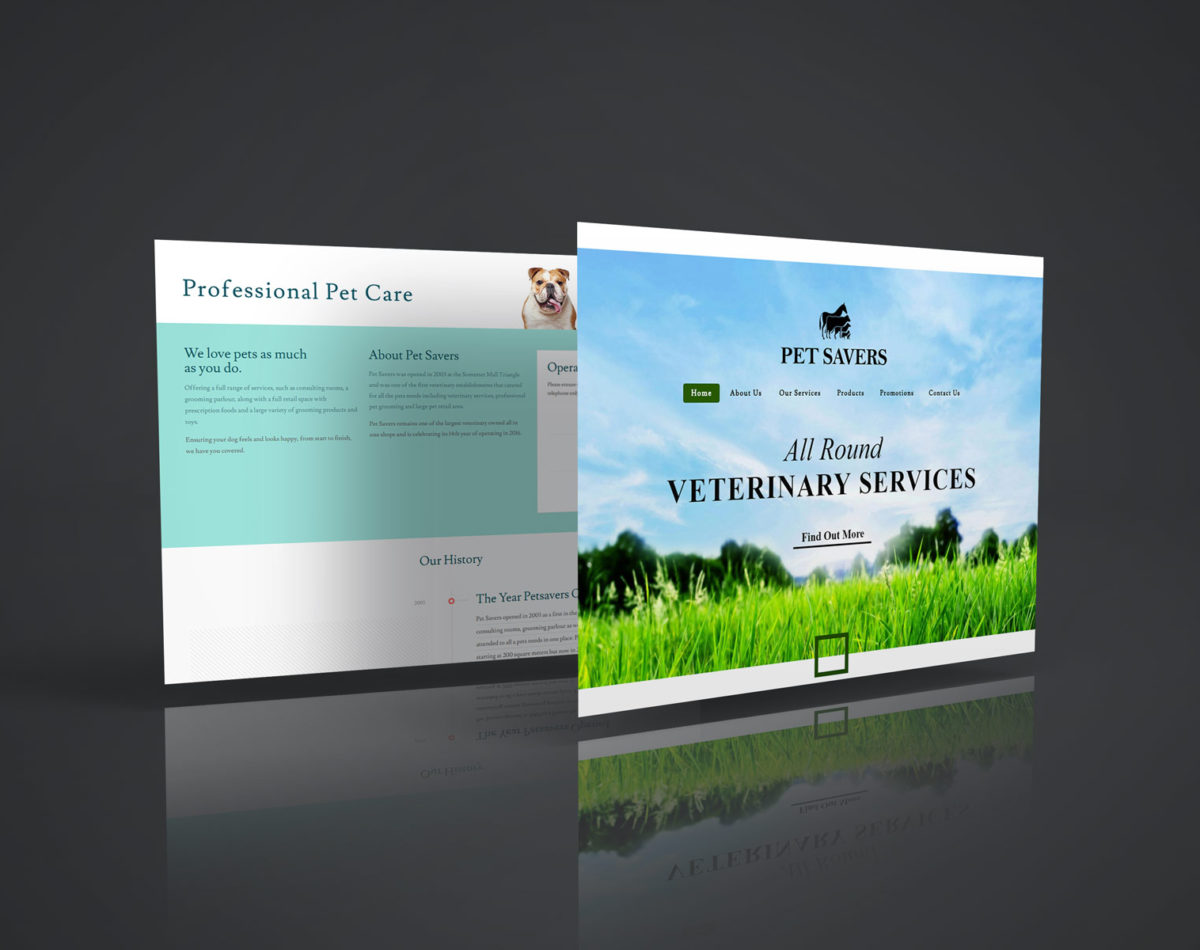 Pet Savers – Vet, Retail & Grooming