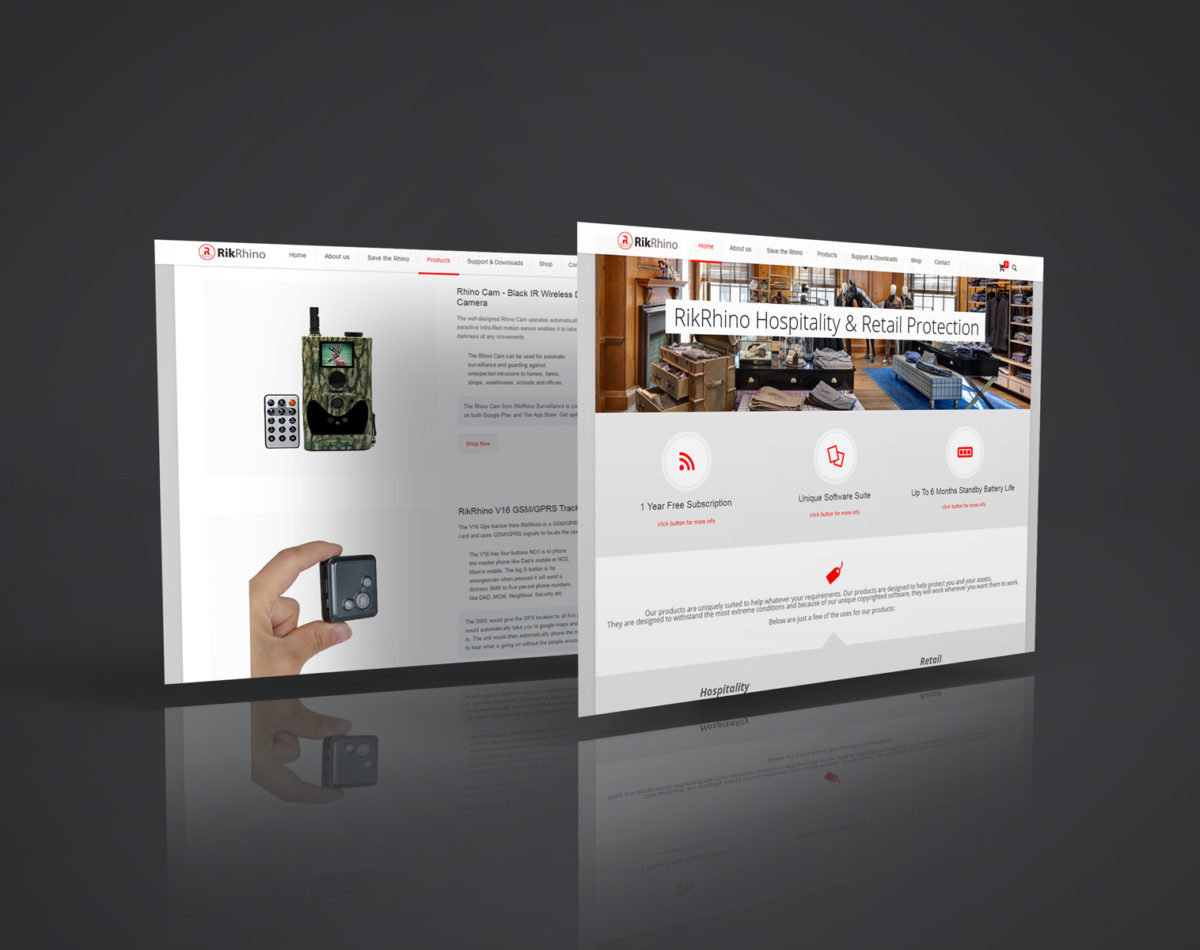 RikRhino Website – Security & Surveillance