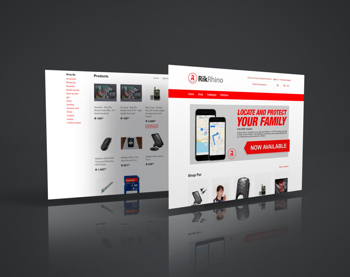 RikRhino Online Store – Security & Surveillance