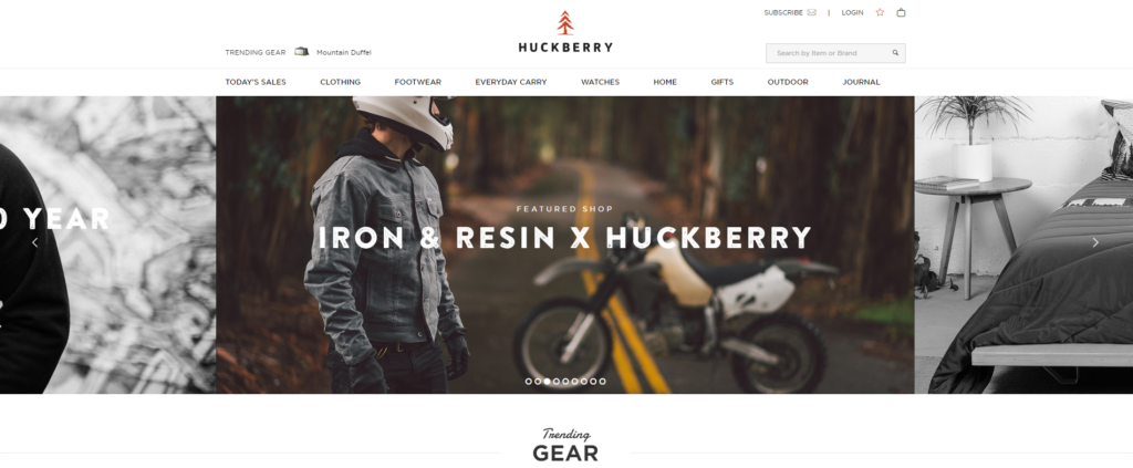 HuckBerry Home