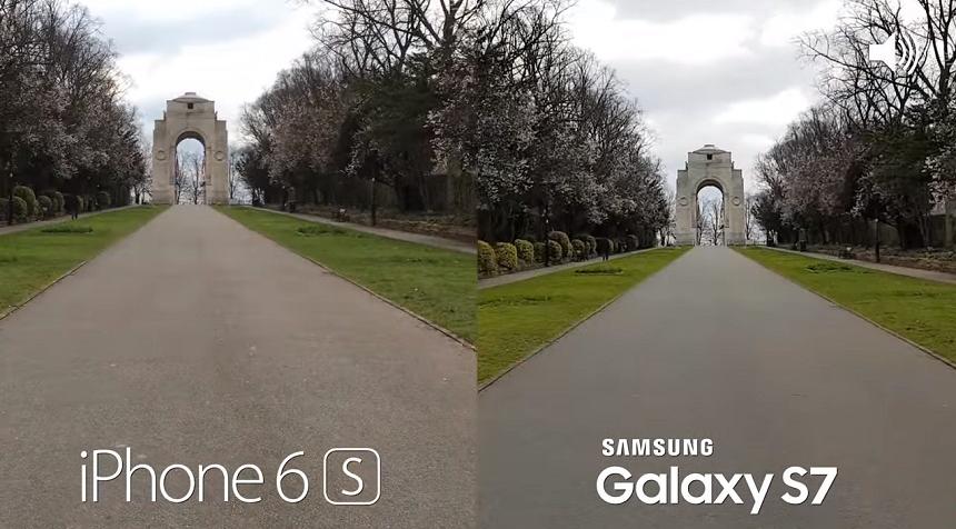 iPhone 7 vs Samsung S7